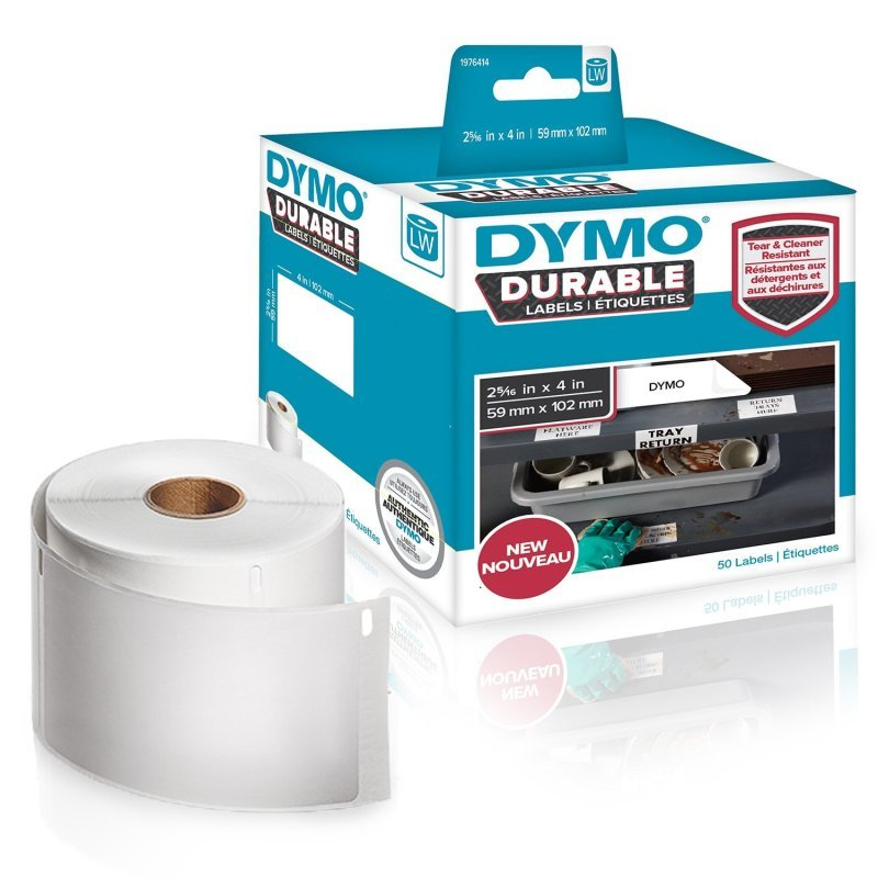 Dymo Durable Labels 59x102mm Roll 1976414