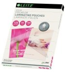 Leitz - 100 - glossy, Crystal Clear - A4  lamination pouches
