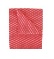 2Work Economy Cloths - Red - Pack of 50