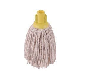2Work 12oz PY Smooth Socket Mop Yellow Pack of 10 PJYY2320I