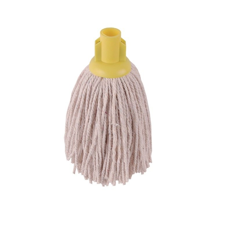 Image of 2Work 12oz PY Smooth Socket Mop Yellow Pack of 10 PJYY2320I