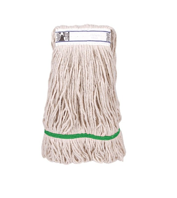 Image of 2Work 340g PY Kentucky Mop Green Pack of 5 103221GN