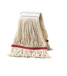 2Work 340g Multi Kentucky Mop - Red - Pack of 5