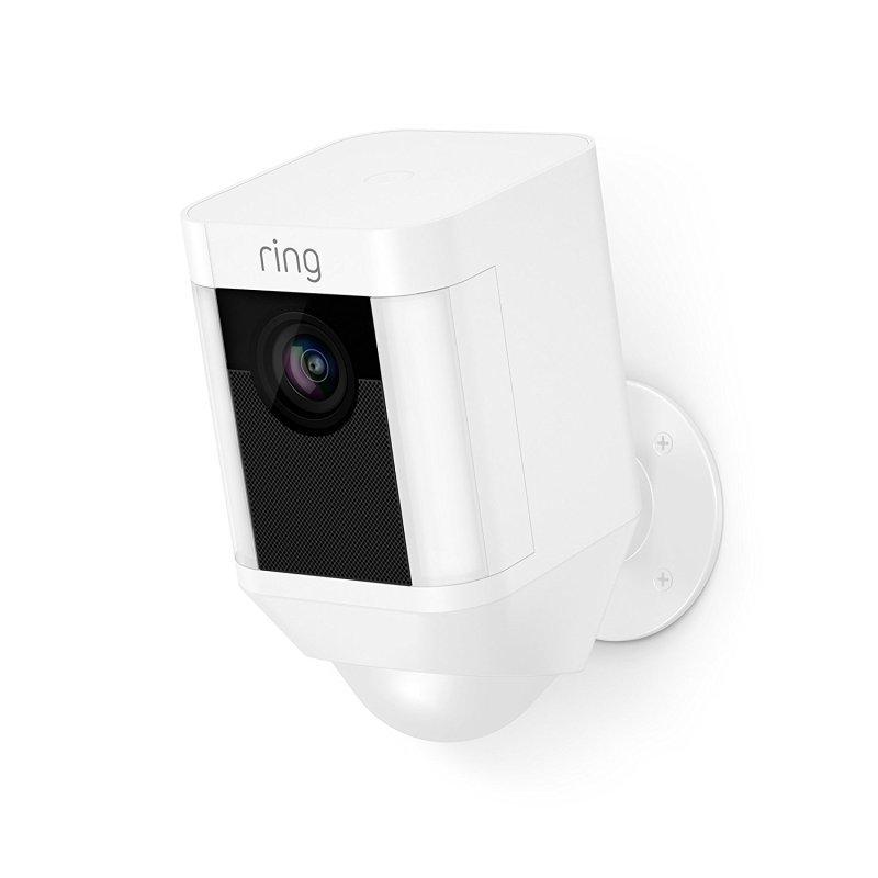 Ring Spotlight Camera Battery - White