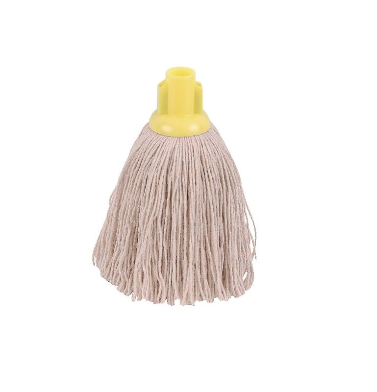 Image of 2Work 12oz Twine Rough Socket Mop Ylw Pack of 10 PJTY1210I