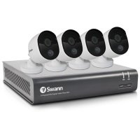 Swann 1080p 8 Channel 1TB DVR and 4 Heat-Sensing Camera CCTV Kit