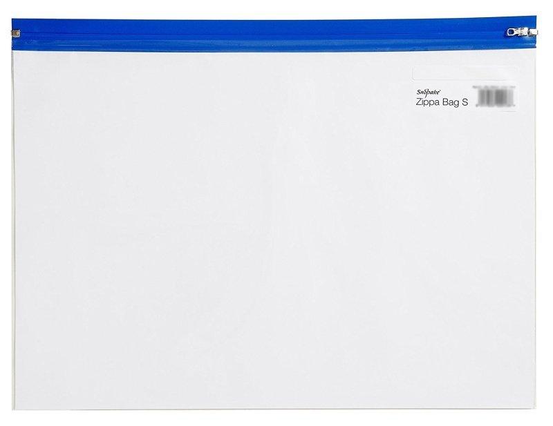 Snopake Zippa Bag A4 Blue 12736 - 25 Pack