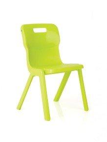 Ff Dd Titan 1 Piece Chair 430mm Pk10 Green
