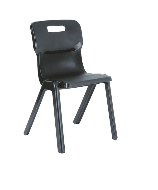 Ff Dd Titan 1 Piece Chair 430mm Pk10 Charcoal
