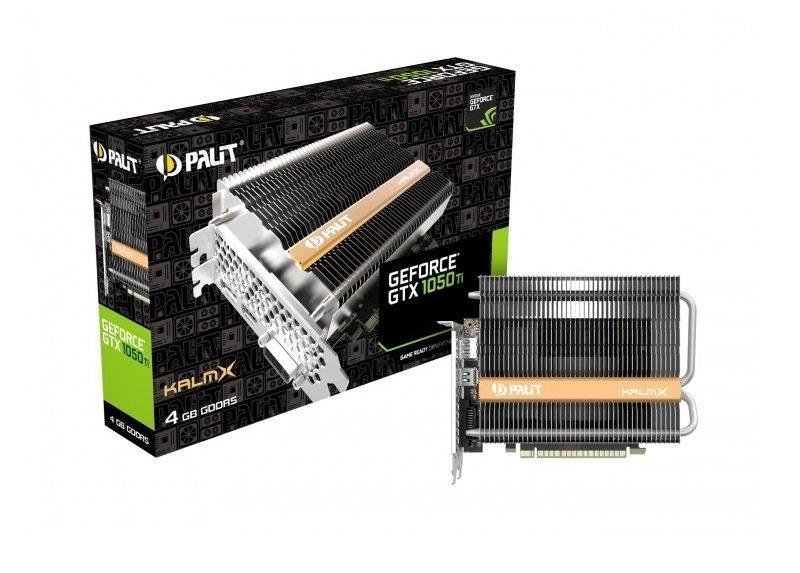 Palit GeForce GTX 1050 Ti KALMX 4GB Passive Graphics Card