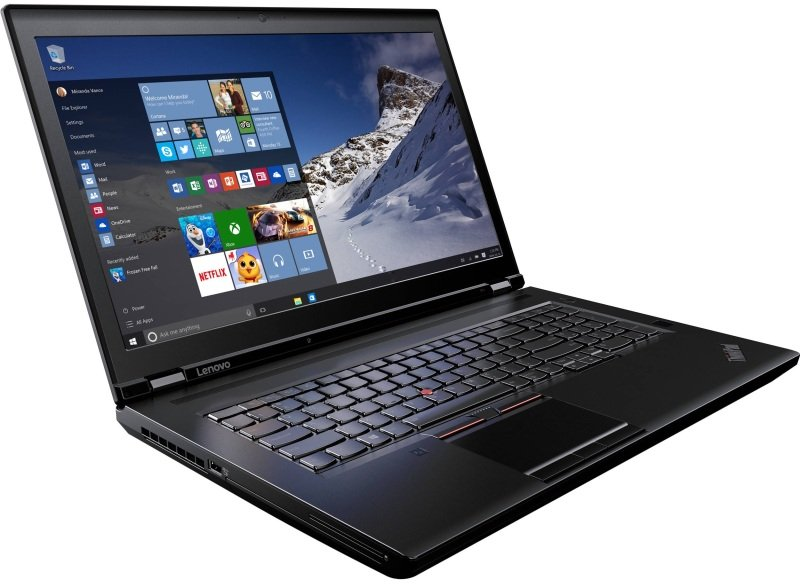 Lenovo ThinkPad P71 20HK - Xeon E3-1505MV6 / 3 GHz - Win 10 Pro 64-bit - 16 GB RAM - 512 GB SSD TCG Opal Encryption 2, NVMe - DVD-Writer - 17.3 IPS 3840 x 2160 (Ultra HD 4K) - Quadro P4000 / HD Graphics P630 - Wi-Fi, Bluetooth - WWAN upgradable - black