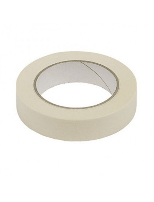 General Purpose 25mmx50m White Masking Tape (Pack of 9)