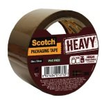 Scotch Heavy Duty 50mmx50m Brown Packaging Tape