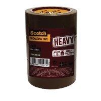 Scotch Heavy Duty 50mmx66m Brown Packaging Tape HV.5066.T3.B