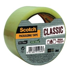 Scotch Classic Packaging Tape 50mmx50m Clear