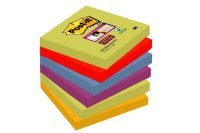 Post-it Super Sticky 76x76mm Marrakesh Notes (6PK)