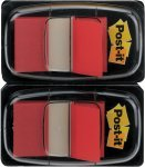 Post-it Index Dispenser Red (Pack of 2x50)