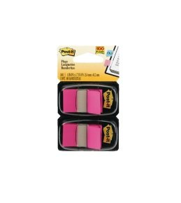 Post-it Index Dispenser Pink (Pack of 2x50)