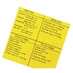 Post-it Super Sticky Yellow Big Notes 558 x 558mm 30PK