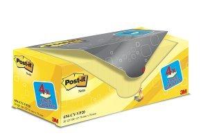 Value Pack Postit Notes 76x76mm PK20