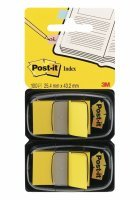 Post-it Index Dispenser Yellow (Pack of 2x50)