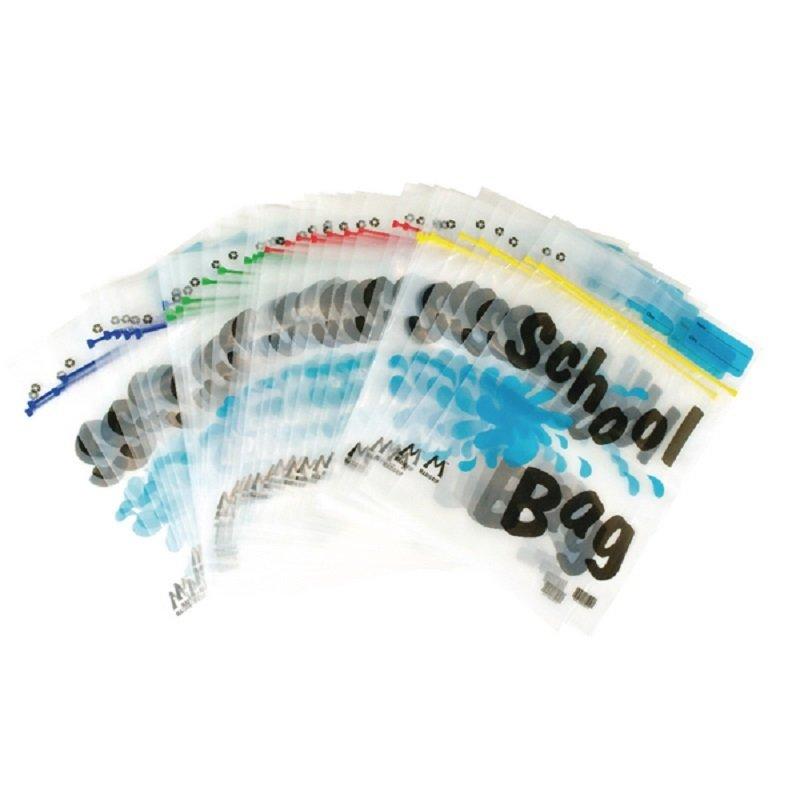 BDS Maxigrip School Bag A4 Clear HEMSBA4