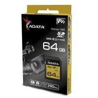 ADATA Premier ONE 64GB SD Card UHS-II Class 10