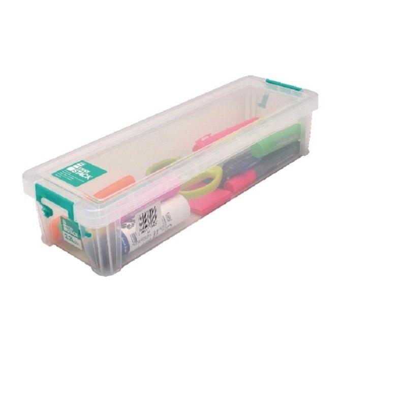 StoreStack 2.2 Litre Clear W370xD110xH80mm Storage Box