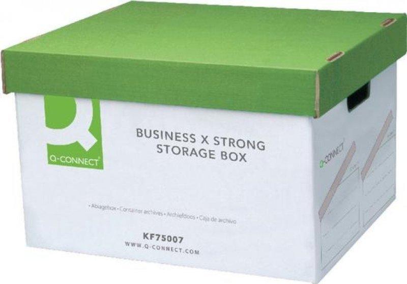 Q Connect Business Storage Trunk Box 10PK
