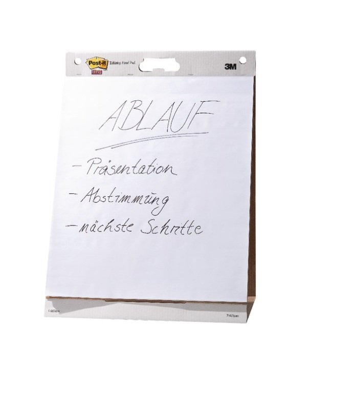 Post-it Super Sticky Plain White Easel Pad 30 Sheets