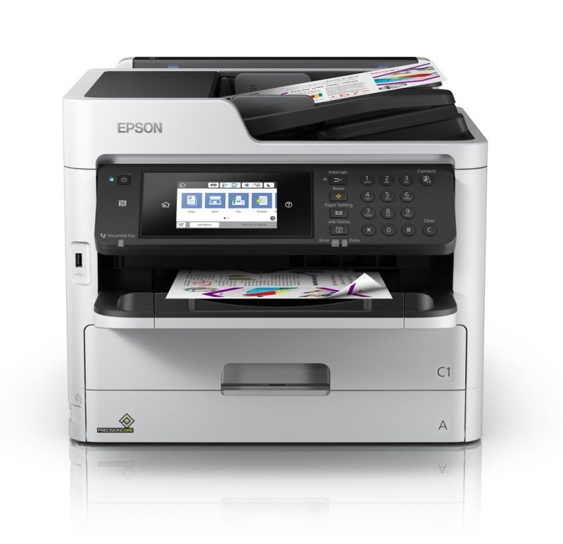 Epson Workforce Pro WF-C5710DWF Colour Multifunction Inkjet Printer