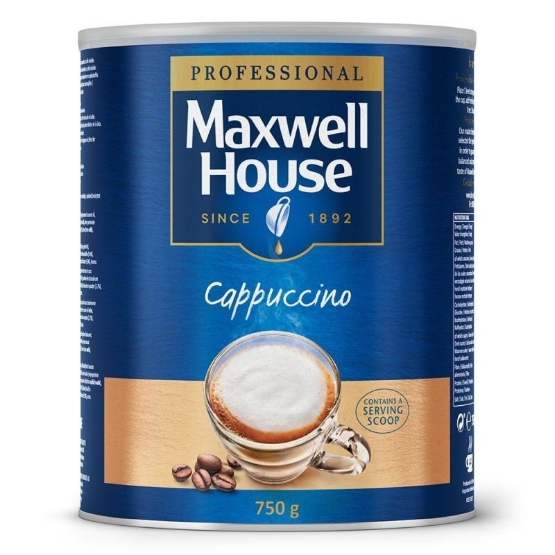 Image of MAXWELL HOUSE CAPPUCCINO POWDER 750G 4032036