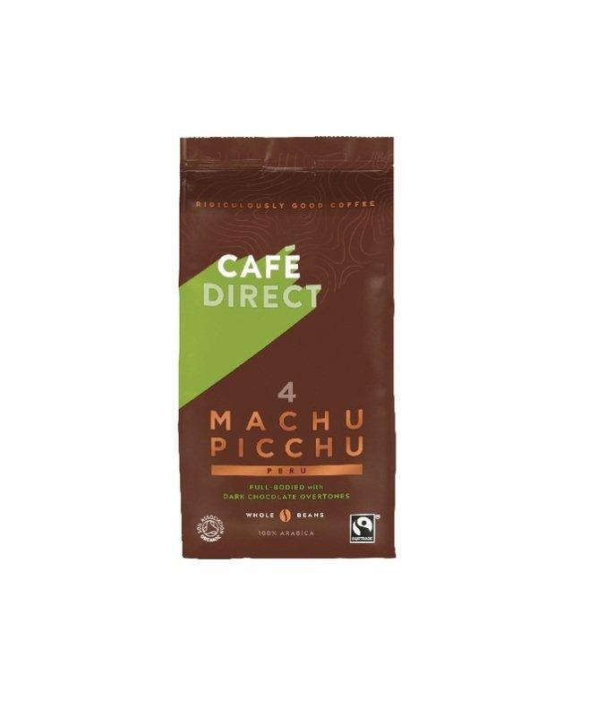 Cafedirect Machu Picchu Whole Coffee Beans 227g