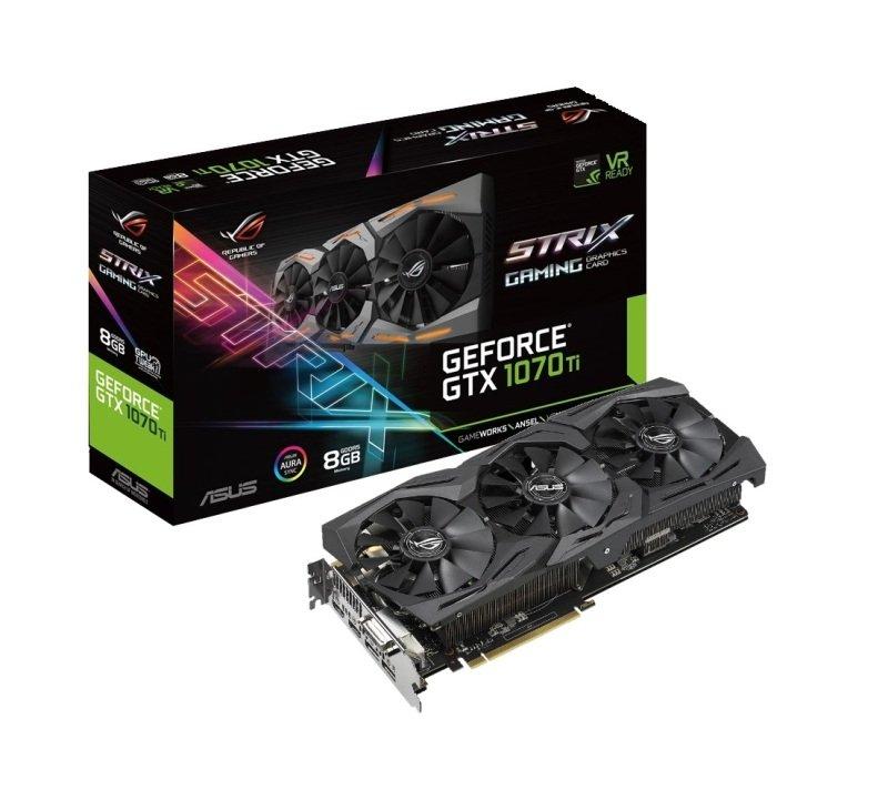Asus ROG Strix GeForce GTX 1070 Ti 8GB GDDR5 Graphics Card