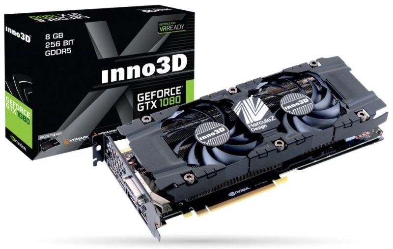 Inno3D GeForce GTX 1080 X2 8GB GDDR5X Graphics Card