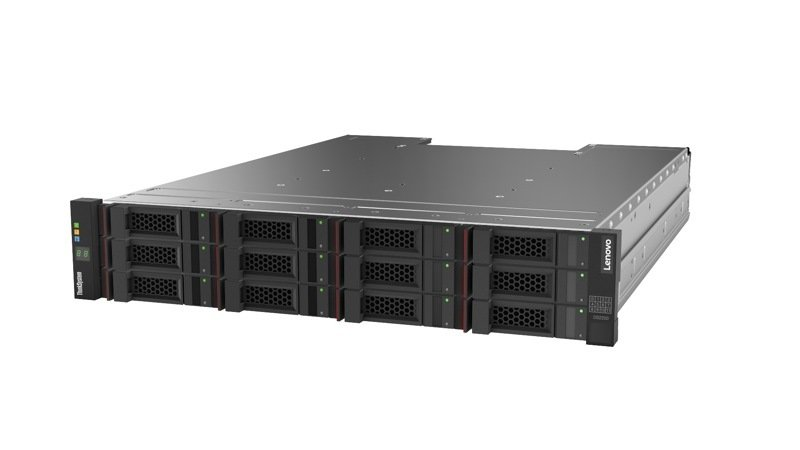 Lenovo ThinkSystem DS2200 LFF FC/iSCSI Dual Controller Unit Dard Drive Array