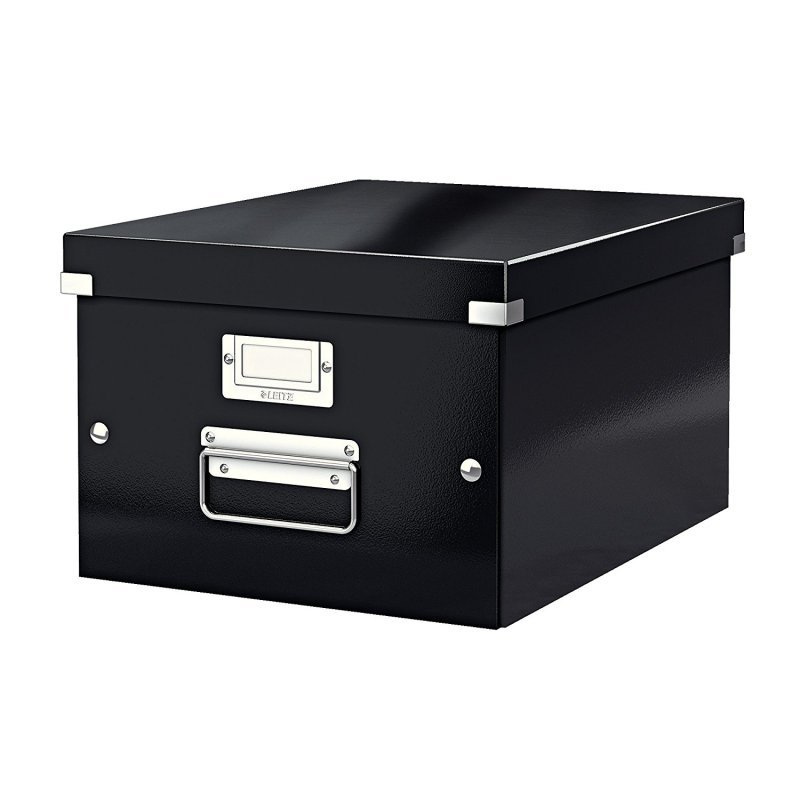 Leitz Click & Store Medium Storage Box Black 60440095