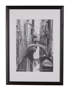 Photo Album Co A2 Black Wood Frame Non-Glass