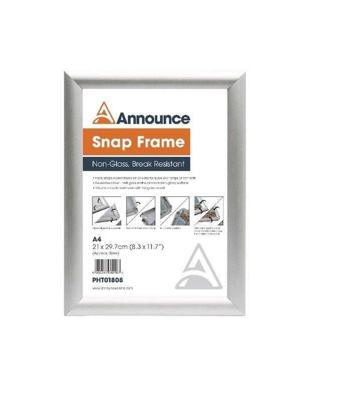 Announce A4 Snap Frame
