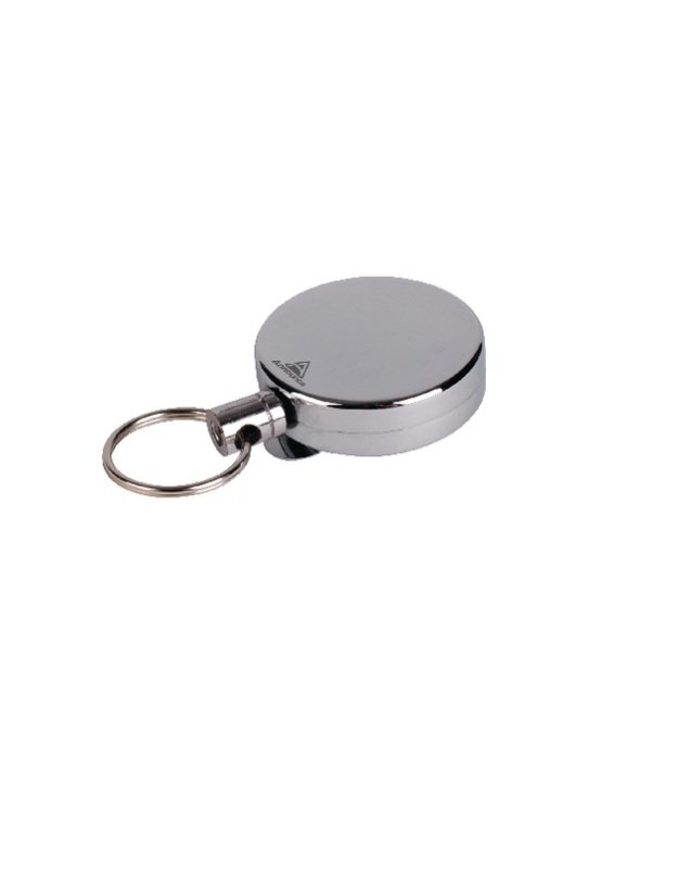 Image of Announce Badge Reel Chrome 660mm (Pack of 10) PV00676