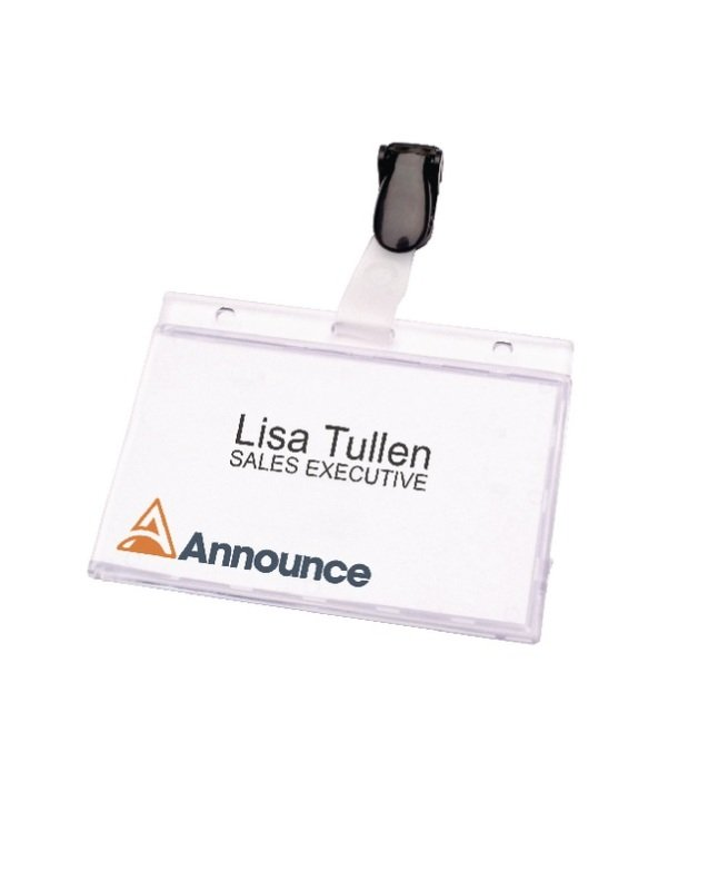 Announce Security Pass Holder 60x90mm (Pack of 25) PV00925