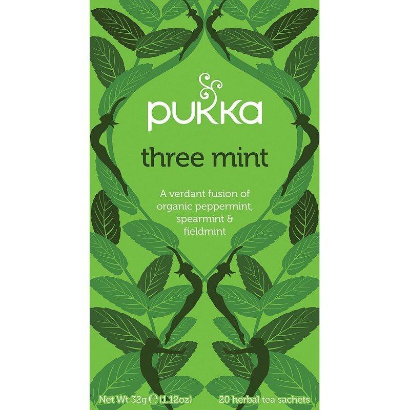 Pukka Three Mint Tea (Pack of 20)