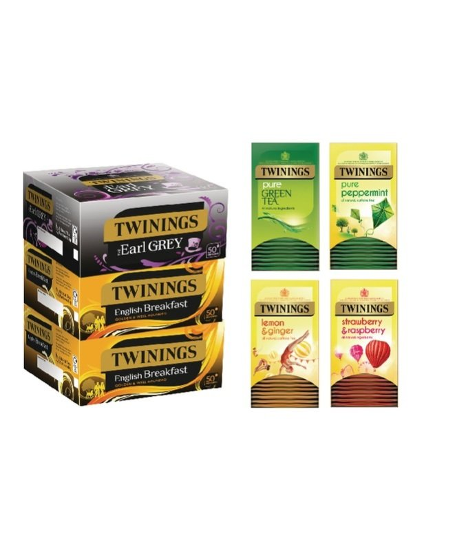Twinings Favourites Variety Pack (Pack of 380)