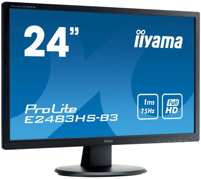 "Iiyama ProLite E2483HS-B3 24"" Full HD Monitor"