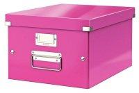 Leitz Click & Store Medium Storage Box Pink