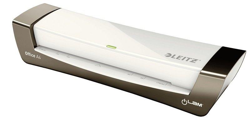 Leitz iLAM Office Laminator A4 Silver/White