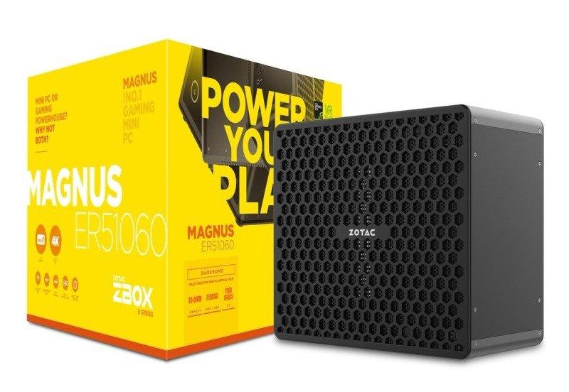 Zotac ZBOX Magnus ER51060 Ryzen 5 1400 DDR4 Barebone