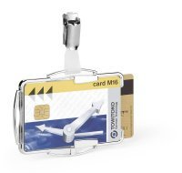 Durable RFID Card Holder Duo (Pack of 10)