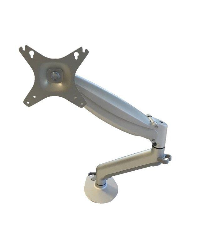 Contour Ergonomics Easy Move Single Monitor Arm Silver