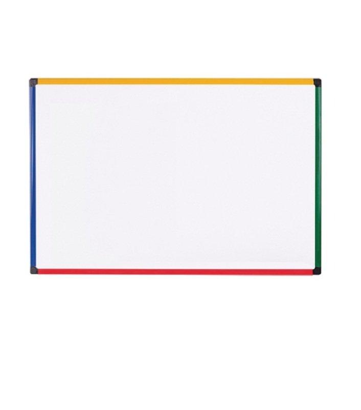 Image of Bi-office Coloured Frame Magnetic Drywipe Board 900x600 MB0707866